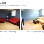 Basement Before & After Picture1